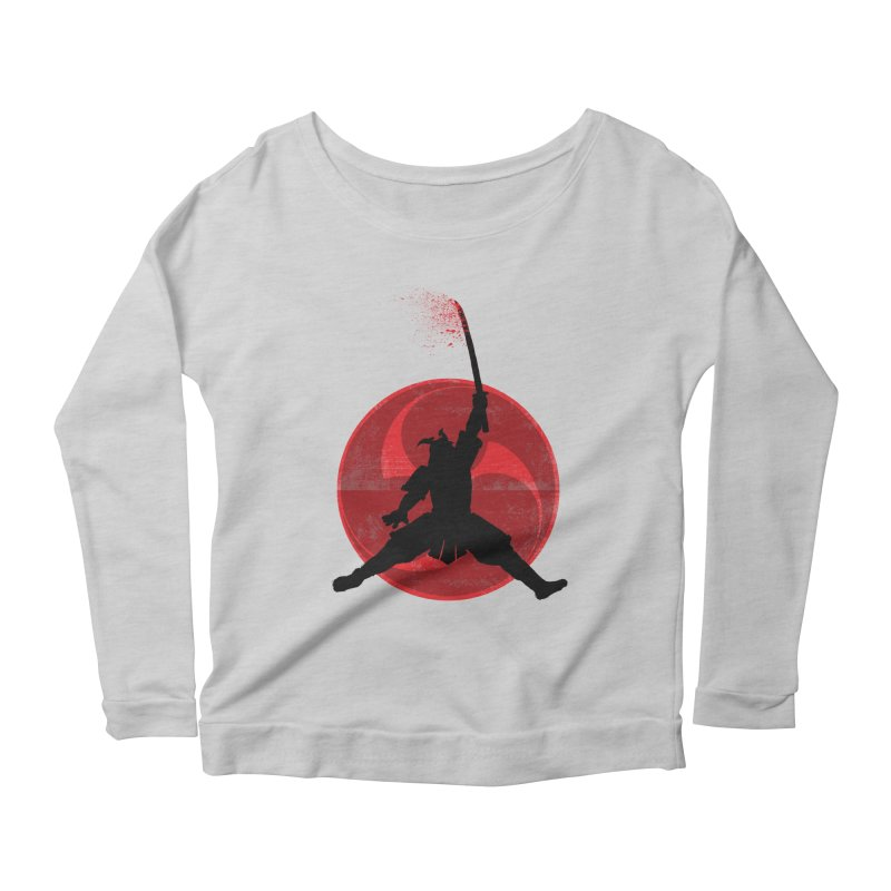 Slamurai Women's Longsleeve Scoopneck  by inbrightestday's Artist Shop
