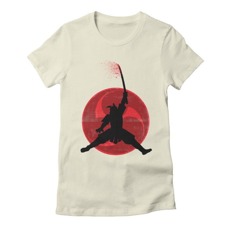 Slamurai Women's Fitted T-Shirt by inbrightestday's Artist Shop