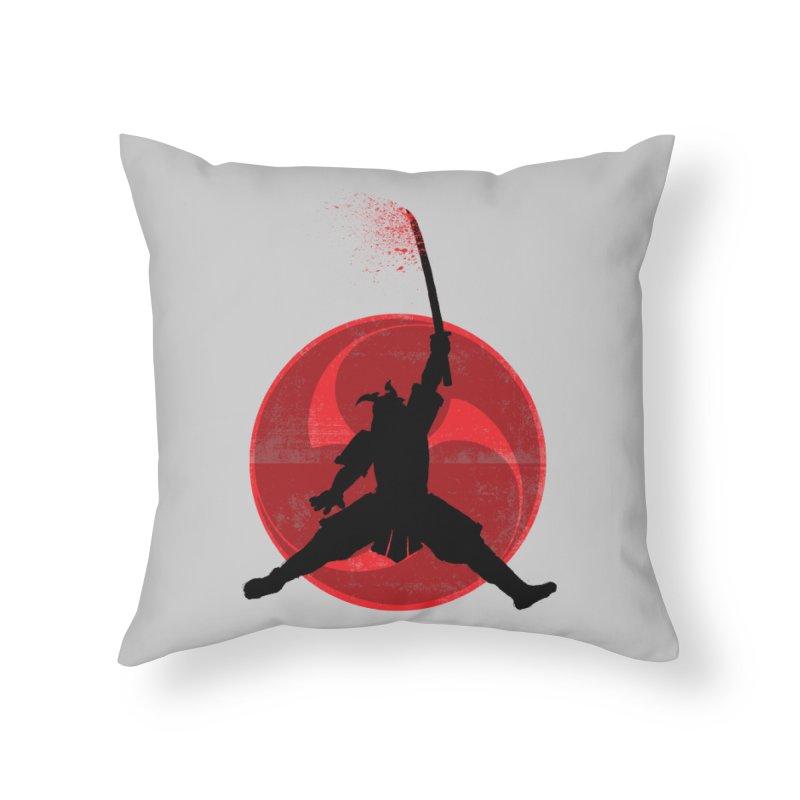 Slamurai Home Throw Pillow by inbrightestday's Artist Shop