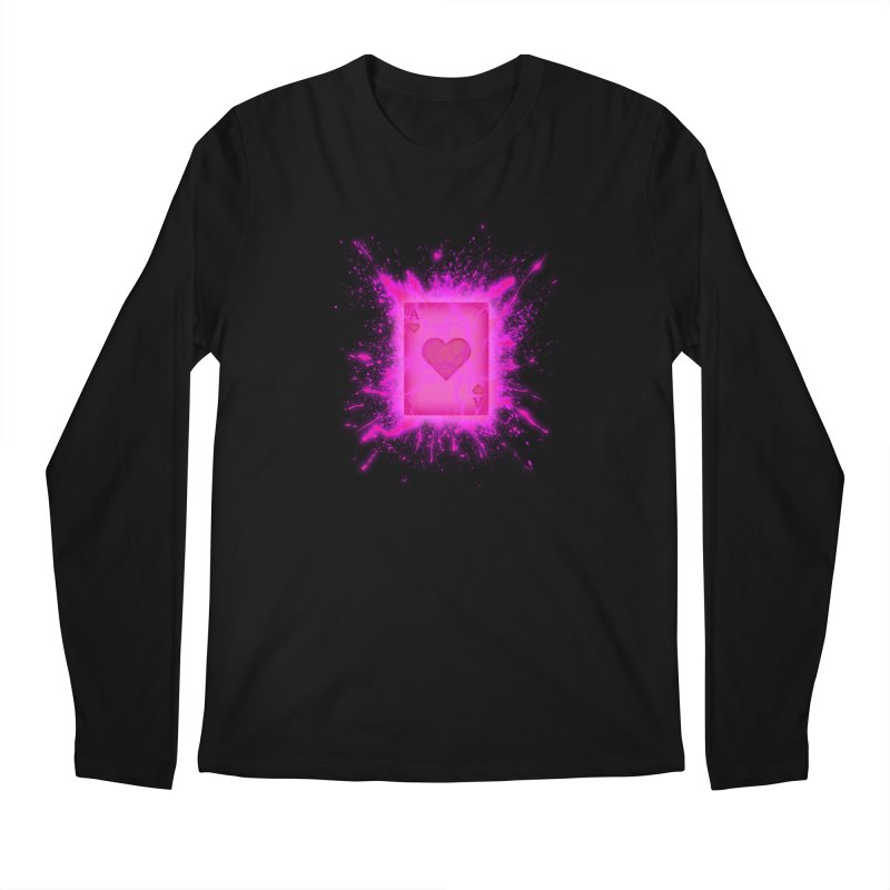 Kinetic Men's Longsleeve T-Shirt by inbrightestday's Artist Shop