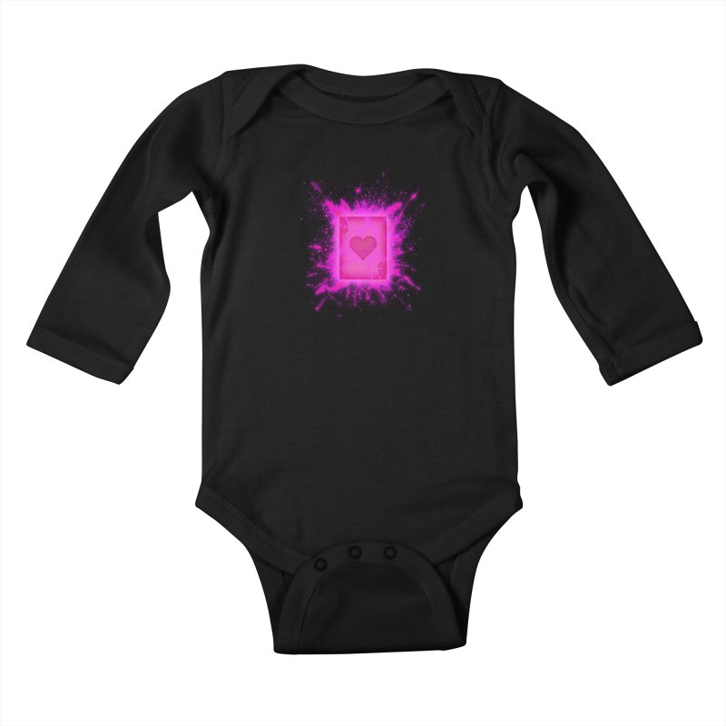 Kinetic Kids Baby Longsleeve Bodysuit by inbrightestday's Artist Shop