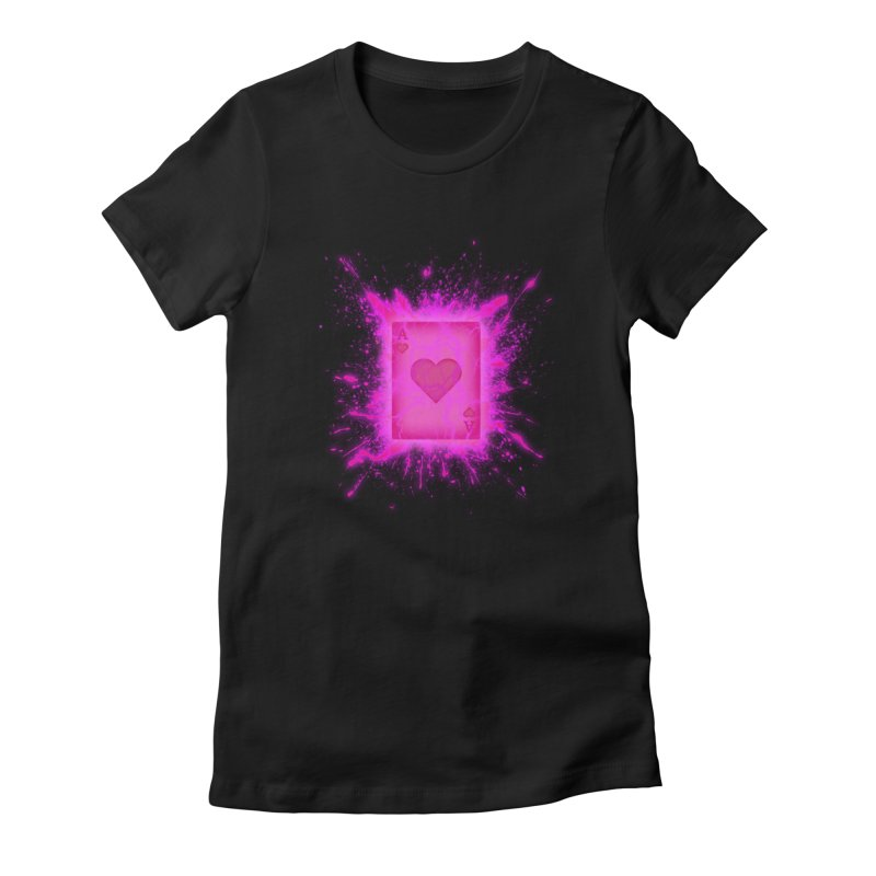 Kinetic Women's Fitted T-Shirt by inbrightestday's Artist Shop
