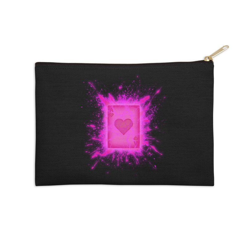 Kinetic Accessories Zip Pouch by inbrightestday's Artist Shop