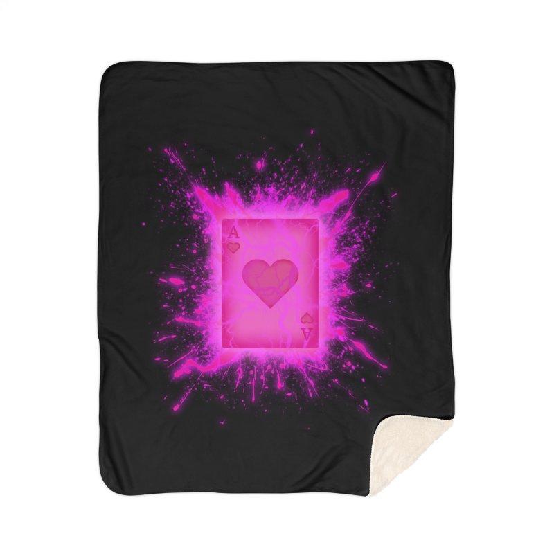 Kinetic Home Sherpa Blanket Blanket by inbrightestday's Artist Shop