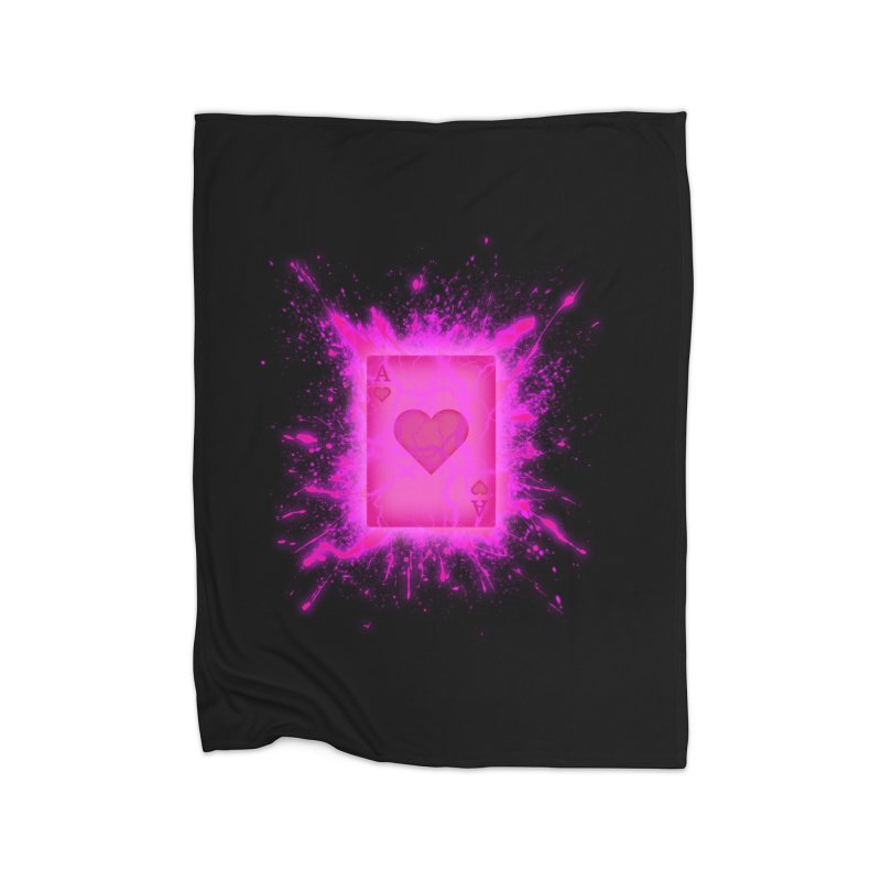 Kinetic Home Fleece Blanket Blanket by inbrightestday's Artist Shop