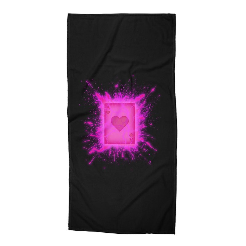 Kinetic Accessories Beach Towel by inbrightestday's Artist Shop