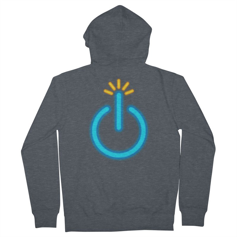 Powerbomb Women's French Terry Zip-Up Hoody by inbrightestday's Artist Shop