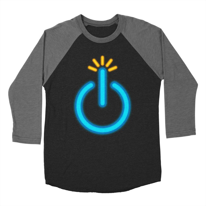Powerbomb Men's Baseball Triblend Longsleeve T-Shirt by inbrightestday's Artist Shop
