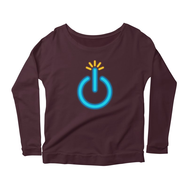 Powerbomb Women's Scoop Neck Longsleeve T-Shirt by inbrightestday's Artist Shop