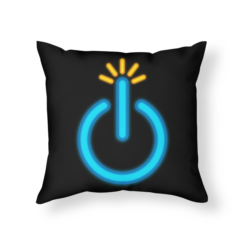 Powerbomb Home Throw Pillow by inbrightestday's Artist Shop