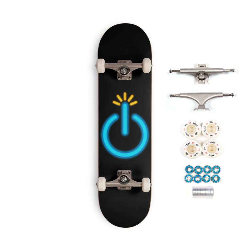 Powerbomb Accessories Complete - Premium Skateboard by inbrightestday's Artist Shop