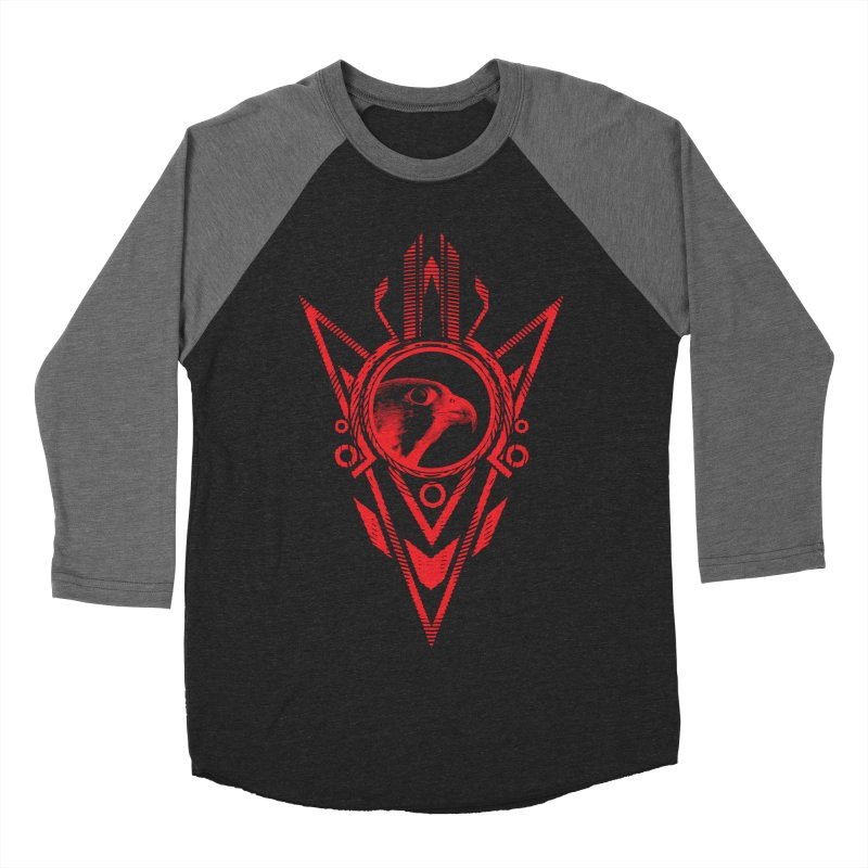 Arrow of the Falcon Men's Baseball Triblend Longsleeve T-Shirt by inbrightestday's Artist Shop