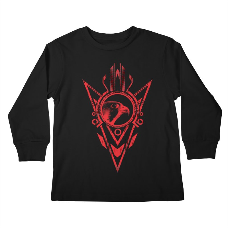 Arrow of the Falcon Kids Longsleeve T-Shirt by inbrightestday's Artist Shop