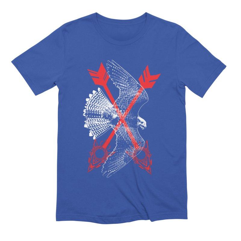 Falcon Arrows Men's Extra Soft T-Shirt by inbrightestday's Artist Shop