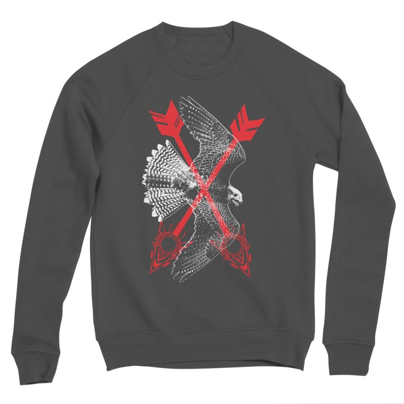 Falcon Arrows Men's Sponge Fleece Sweatshirt by inbrightestday's Artist Shop