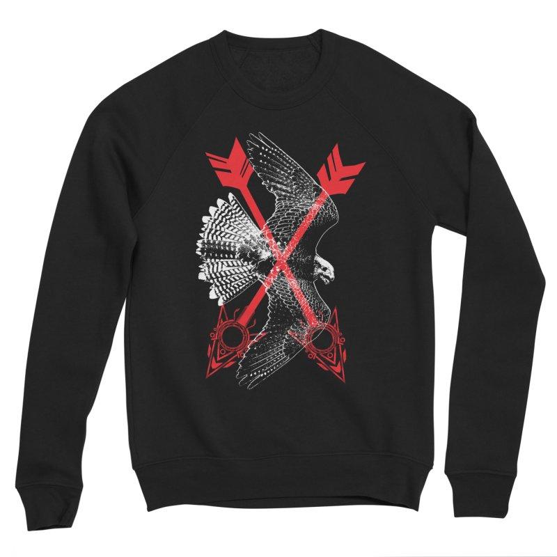 Falcon Arrows Men's Sponge Fleece Sweatshirt by inbrightestday's Artist Shop