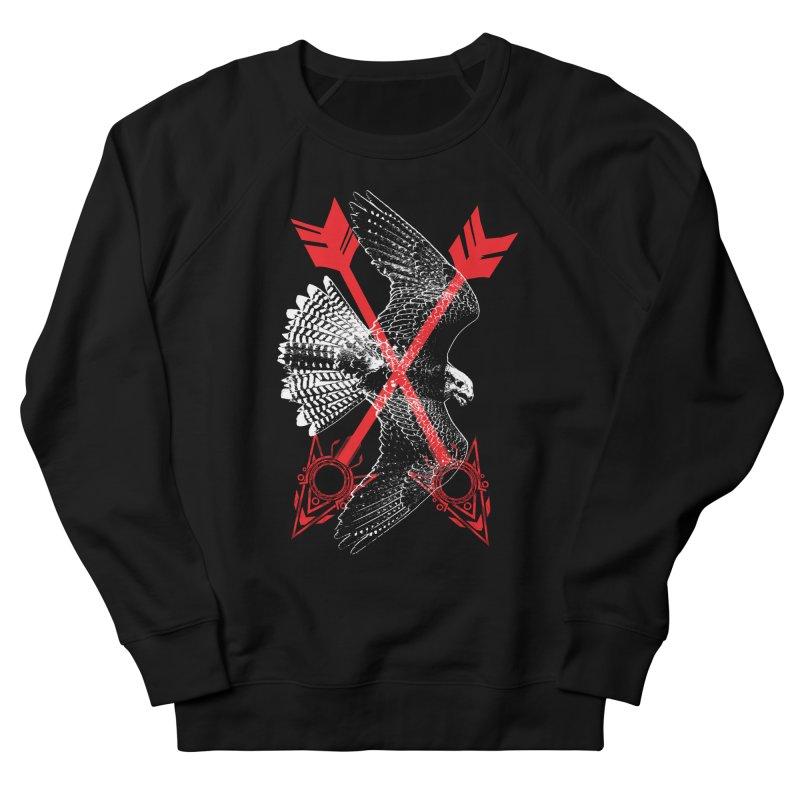 Falcon Arrows Women's French Terry Sweatshirt by inbrightestday's Artist Shop