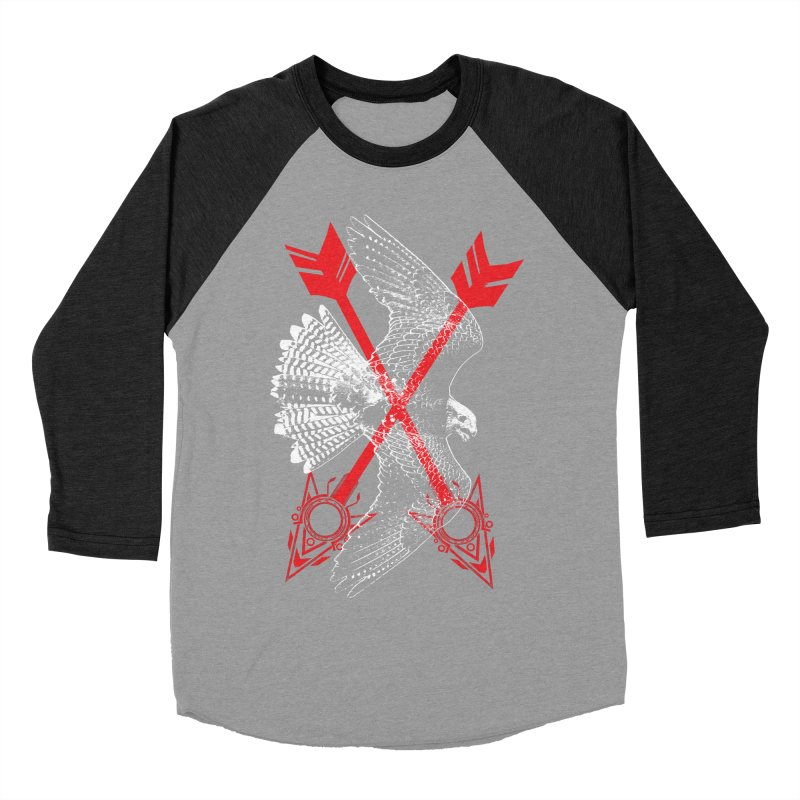 Falcon Arrows Women's Baseball Triblend Longsleeve T-Shirt by inbrightestday's Artist Shop