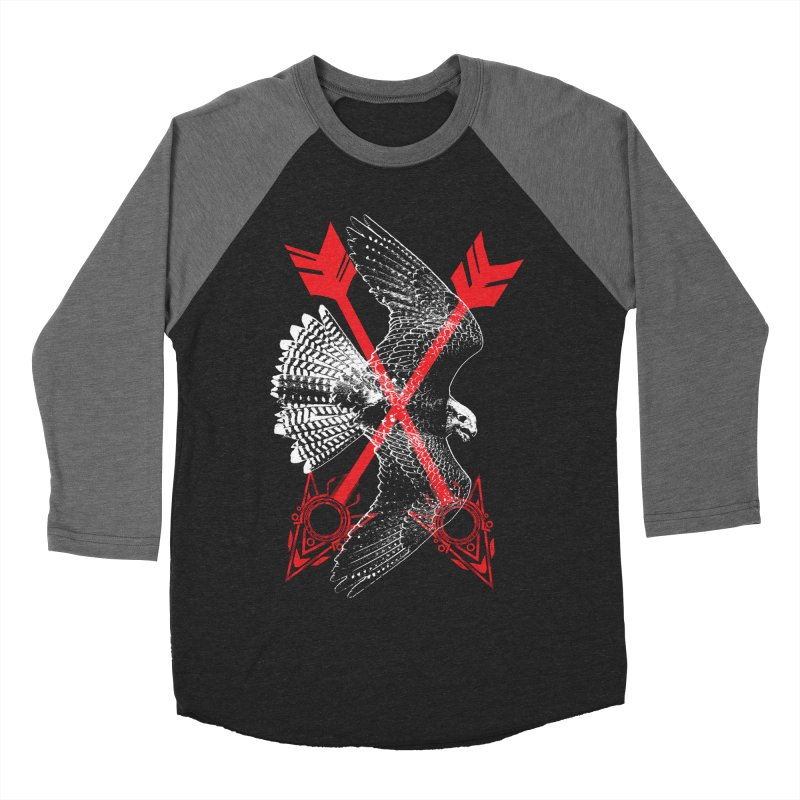 Falcon Arrows Men's Baseball Triblend Longsleeve T-Shirt by inbrightestday's Artist Shop