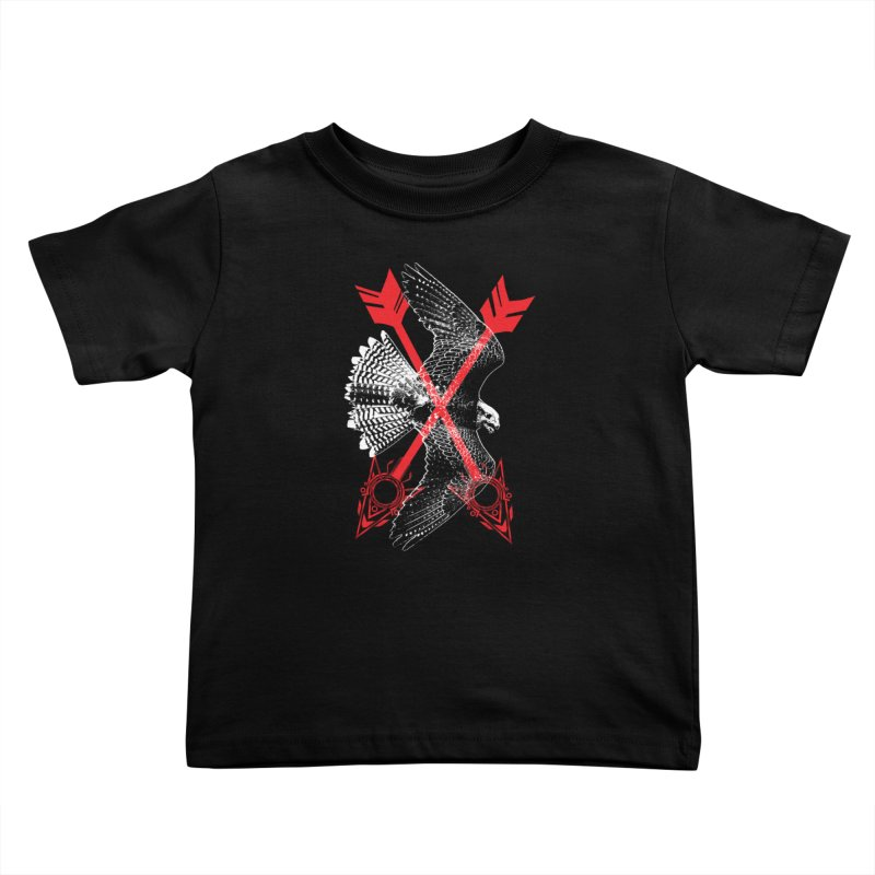 Falcon Arrows Kids Toddler T-Shirt by inbrightestday's Artist Shop