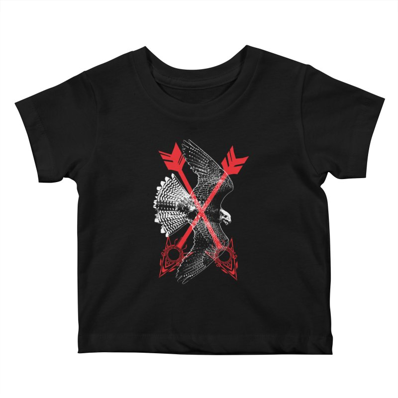 Falcon Arrows Kids Baby T-Shirt by inbrightestday's Artist Shop