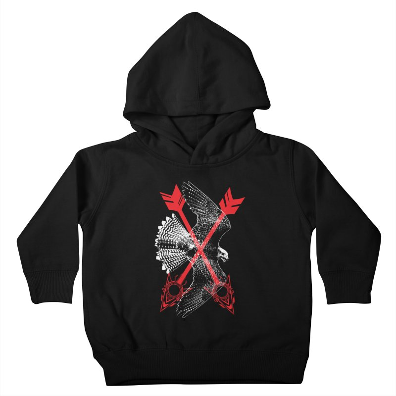 Falcon Arrows Kids Toddler Pullover Hoody by inbrightestday's Artist Shop