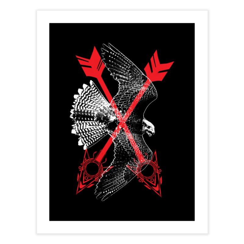 Falcon Arrows Home Fine Art Print by inbrightestday's Artist Shop