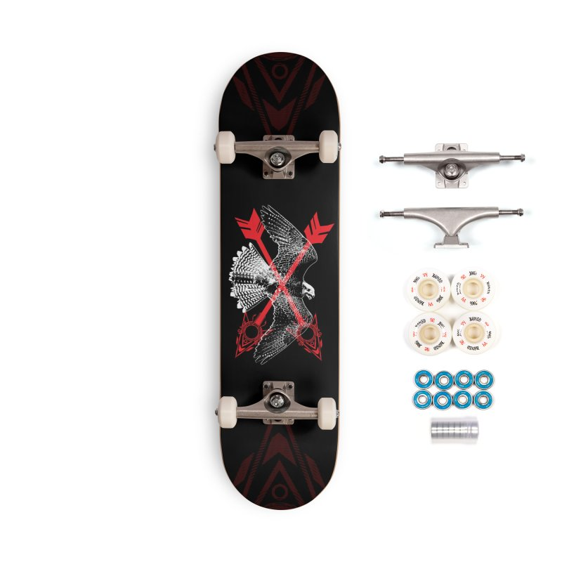 Falcon Arrows Accessories Complete - Premium Skateboard by inbrightestday's Artist Shop
