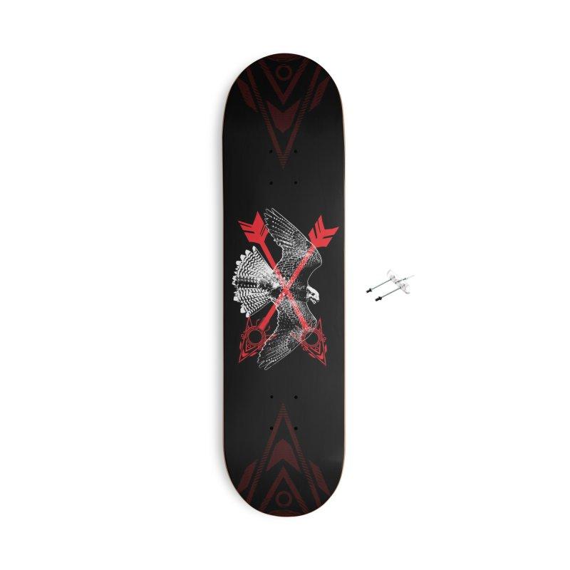 Falcon Arrows Accessories Skateboard by inbrightestday's Artist Shop