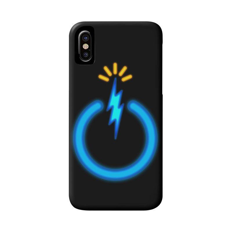 Blue Thunder Bomb Accessories Phone Case by inbrightestday's Artist Shop