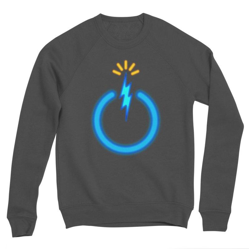 Blue Thunder Bomb Women's Sponge Fleece Sweatshirt by inbrightestday's Artist Shop