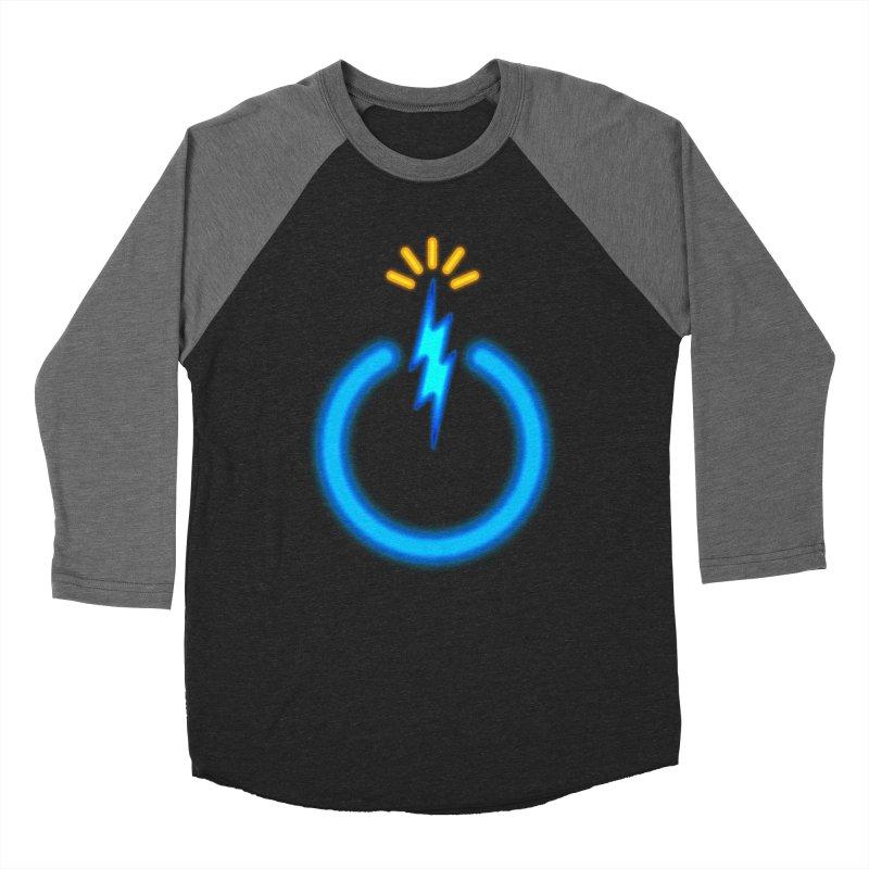 Blue Thunder Bomb Women's Baseball Triblend Longsleeve T-Shirt by inbrightestday's Artist Shop