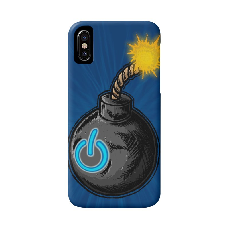 Bomb of Power Accessories Phone Case by inbrightestday's Artist Shop