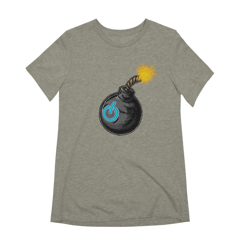 Bomb of Power Women's Extra Soft T-Shirt by inbrightestday's Artist Shop