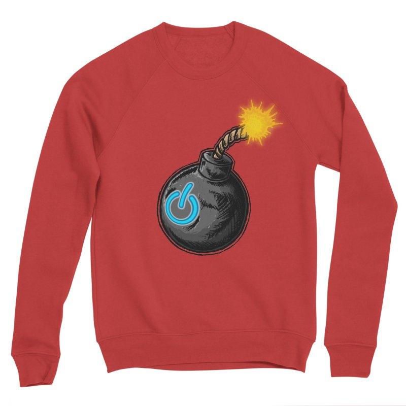 Bomb of Power Women's Sponge Fleece Sweatshirt by inbrightestday's Artist Shop