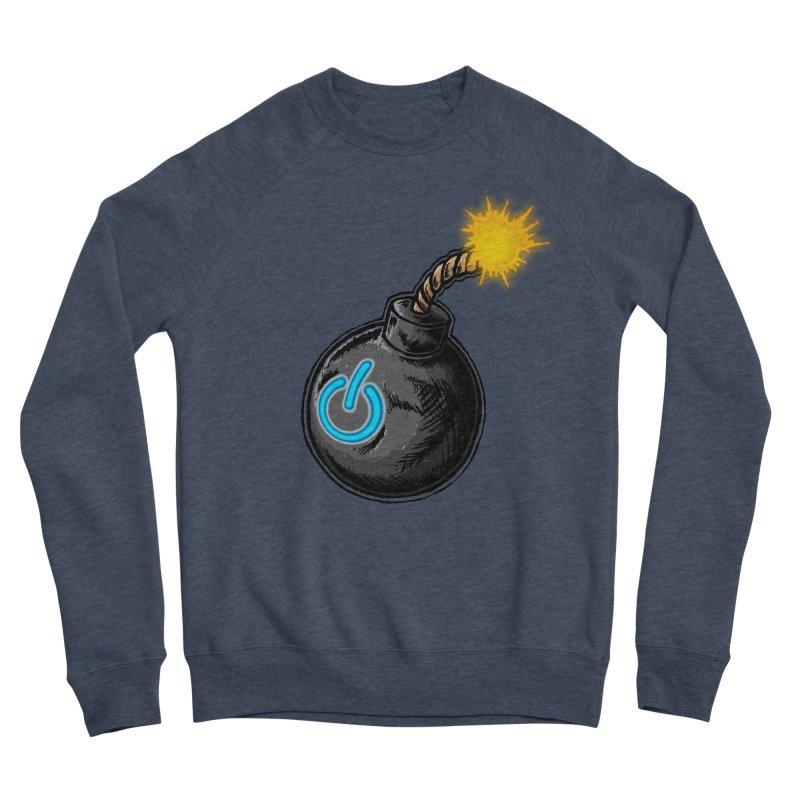 Bomb of Power Men's Sponge Fleece Sweatshirt by inbrightestday's Artist Shop
