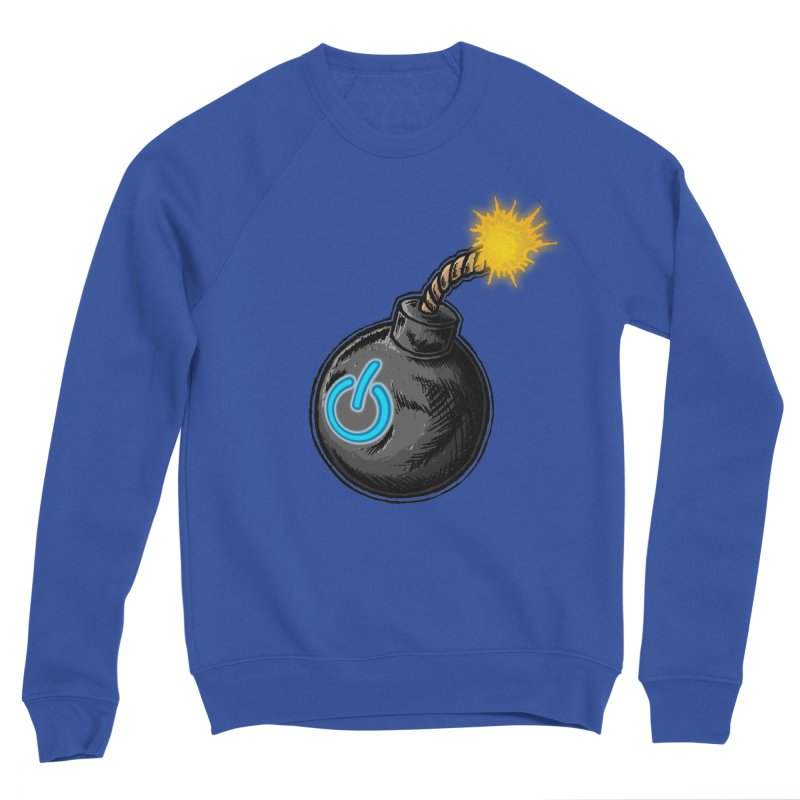 Bomb of Power Women's Sponge Fleece Sweatshirt by inbrightestday's Artist Shop