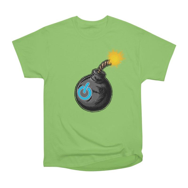 Bomb of Power Men's Heavyweight T-Shirt by inbrightestday's Artist Shop