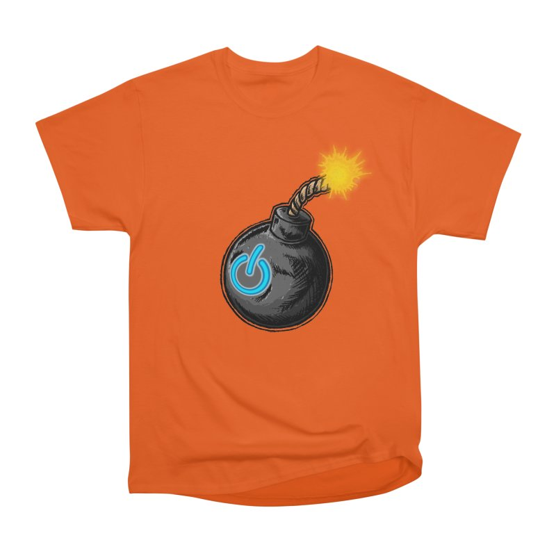 Bomb of Power Women's Heavyweight Unisex T-Shirt by inbrightestday's Artist Shop