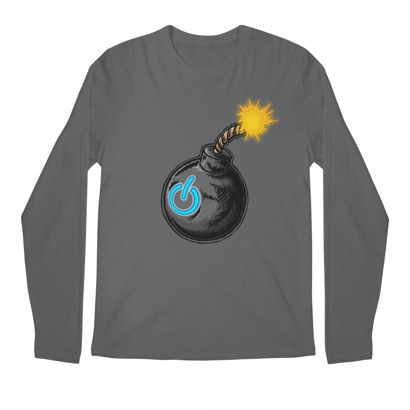 Bomb of Power Men's Regular Longsleeve T-Shirt by inbrightestday's Artist Shop