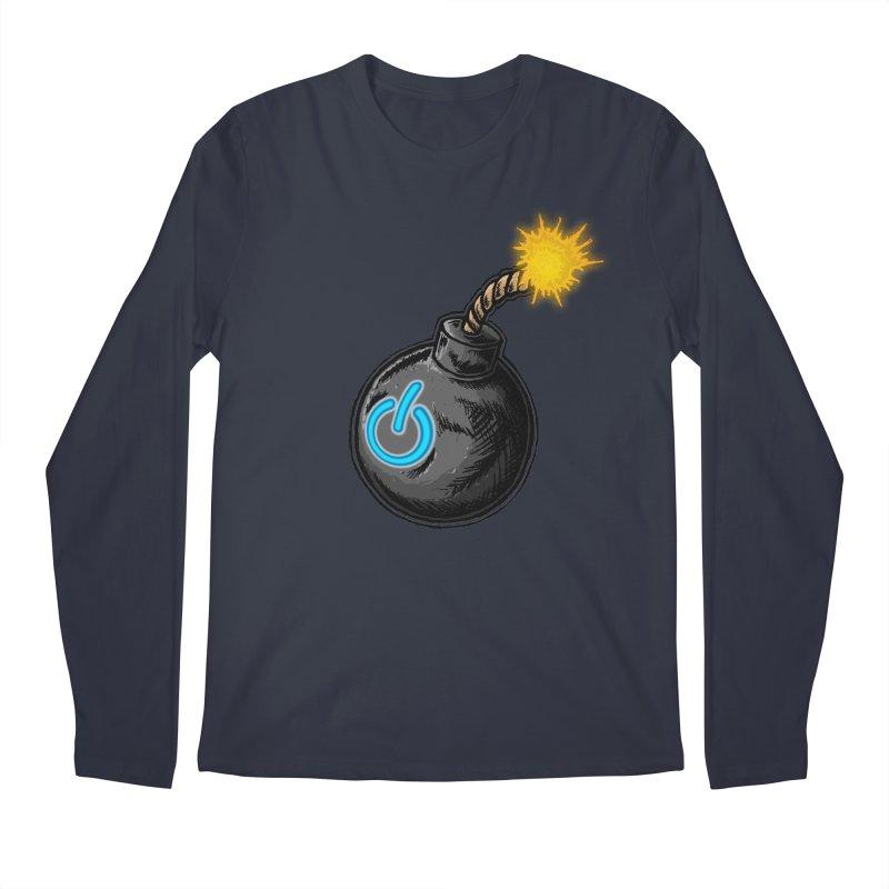 Bomb of Power Men's Regular Longsleeve T-Shirt by inbrightestday's Artist Shop