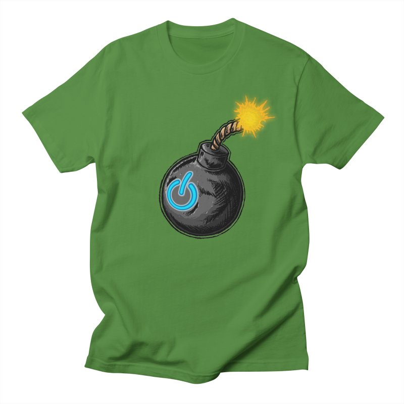 Bomb of Power Women's Regular Unisex T-Shirt by inbrightestday's Artist Shop