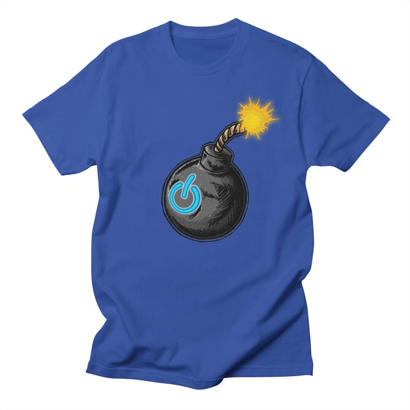 Bomb of Power Women's Regular Unisex T-Shirt by inbrightestday's Artist Shop