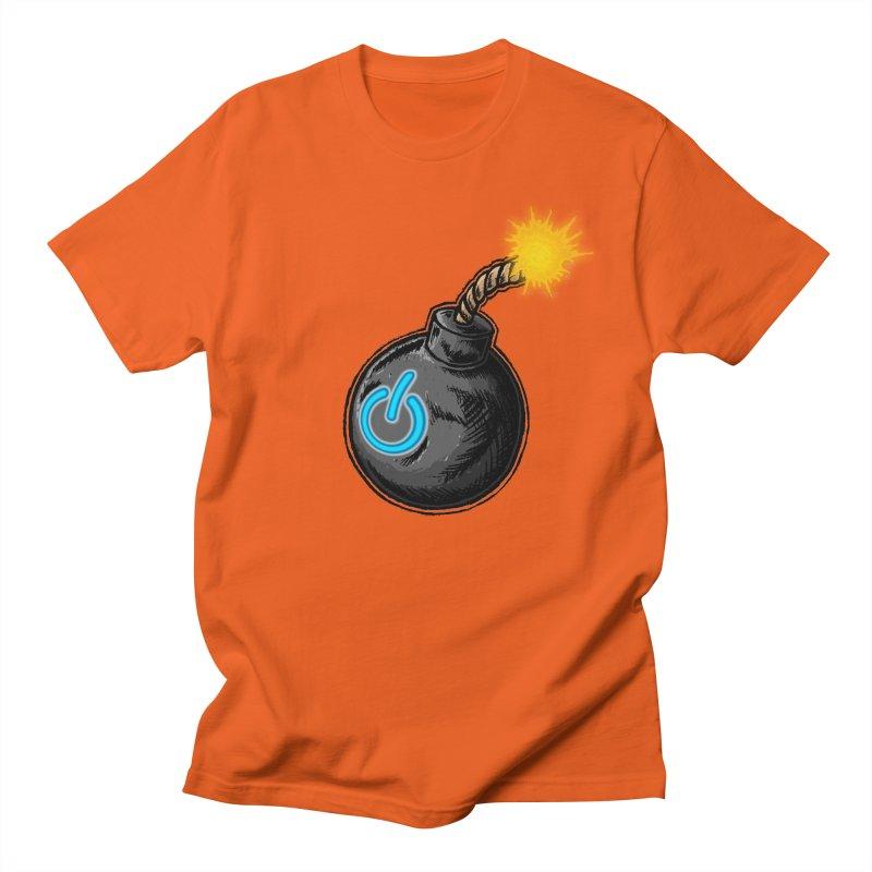 Bomb of Power Men's Regular T-Shirt by inbrightestday's Artist Shop