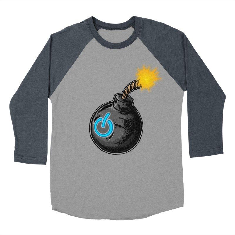 Bomb of Power Women's Baseball Triblend Longsleeve T-Shirt by inbrightestday's Artist Shop