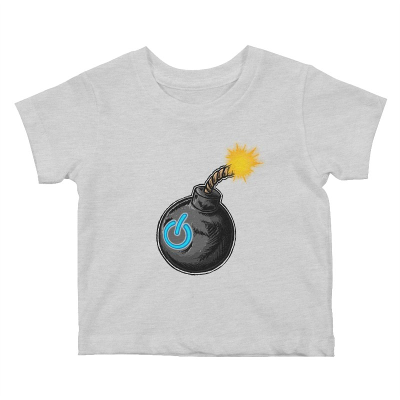 Bomb of Power Kids Baby T-Shirt by inbrightestday's Artist Shop