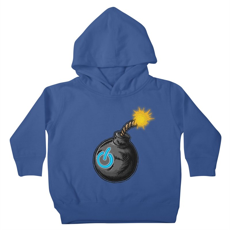 Bomb of Power Kids Toddler Pullover Hoody by inbrightestday's Artist Shop