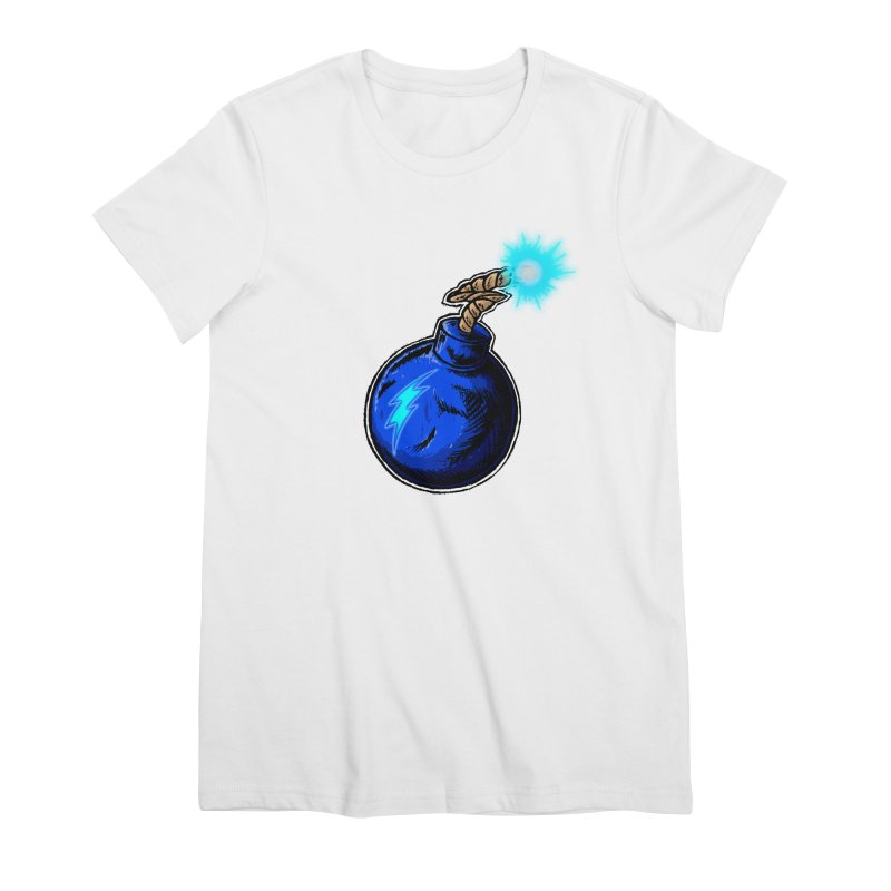 Bomb of Blue Thunder Women's Premium T-Shirt by inbrightestday's Artist Shop