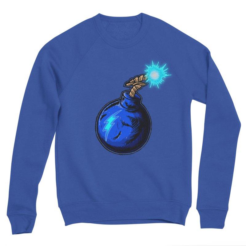 Bomb of Blue Thunder Women's Sponge Fleece Sweatshirt by inbrightestday's Artist Shop