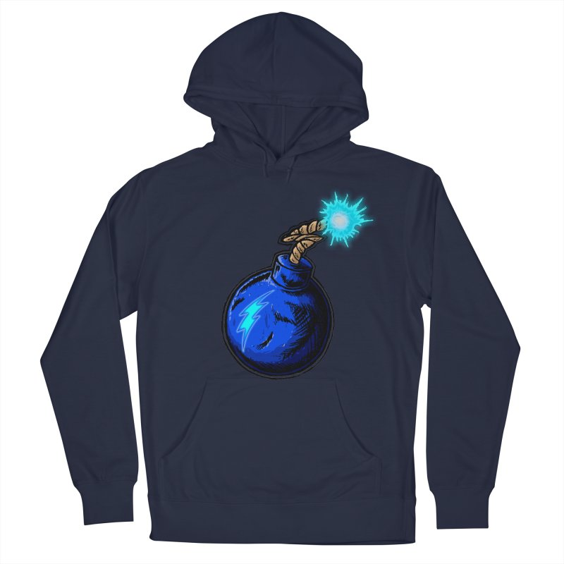 Bomb of Blue Thunder Men's Pullover Hoody by inbrightestday's Artist Shop